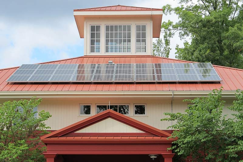 Image Solar Home Installation